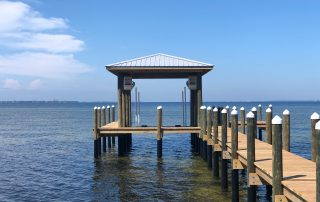 Boat Houses by Straight Line Marine Construction